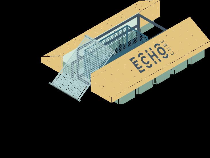 Schéma echo cube
