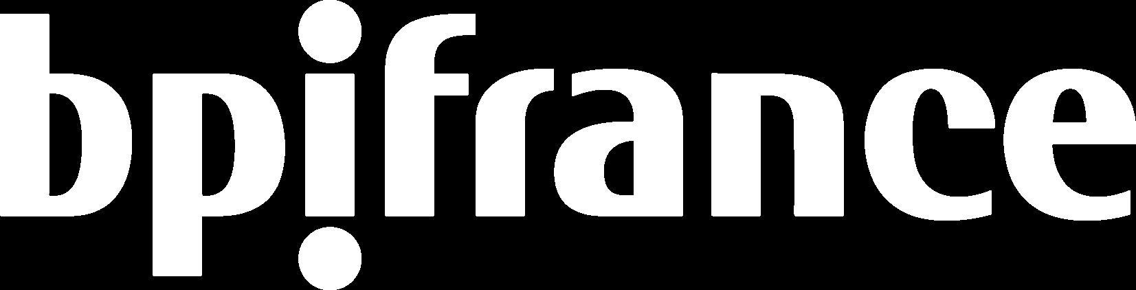 Logo bpi france blanc